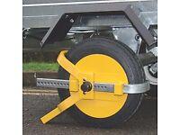 Caravan/Trailer Wheel Clamp - Maypole Universal Trailer Wheel Clamp