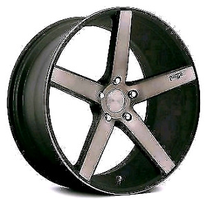 NICHE- MILAN Black 20x8.5     5x114.3 with tires ! 245/35/20