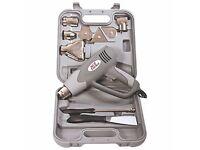 Earlex Heat Gun and accessories HG2000 2000w £15