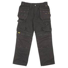 Dewalt Pro Tradesman Work Trousers 36/31