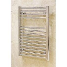 Crome Towel rail for sale £40. measurements 40 X 80cms