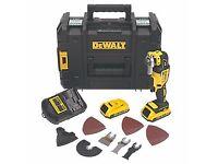 Dewalt Cordless Multi Tool C/W 2x5Ah Batteries - Not Bosch Milwaukee makita