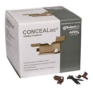 Concealoc Deck Fasteners