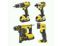 dewalt 4 piece power tool kit