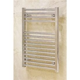Crome Towel rail for sale £40. measurements 40 X 80cms