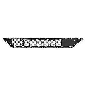Grille Lower Textured Black With Skid Plate/Pedestrian Recognition Hyundai Tucson 2016-2017