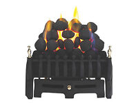 Blenheim Black Gas Fire Insert from Screwfix