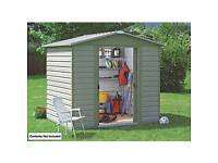 YardMaster 86SL Metal shed 8X6