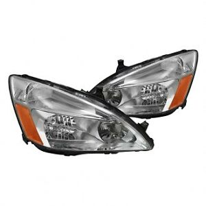 HONDA ACCORD 03-07 PAIR HEADLIGHTS ONLY FOR $190
