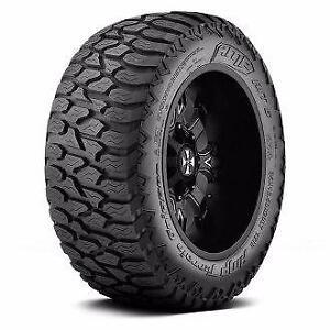 "35x12.50R22 AMP Terrain Gripper A/T Tires * Snowflake Rated * 22"" x 35"" tall"