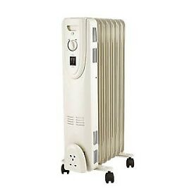 1500W Freestanding Oil Filled Radiator