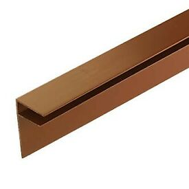 SIDE FLASHING BROWN X 10MM FOR POLYCARBONATE SHEET