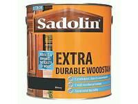 SADOLIN EXTRA DURABLE WOODSTAIN 2.5L - EBONY