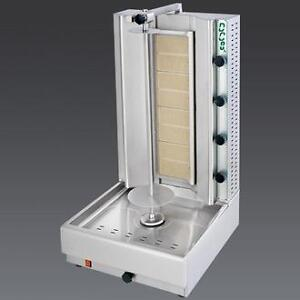 GYRO, DONAIR, SHAWARMA MACHINE, GAS, PROPANE, ELECTRIC MEAT (MADE IN GREECE), VERTICAL BROILER, BRAND NEW WITH WARRANTY