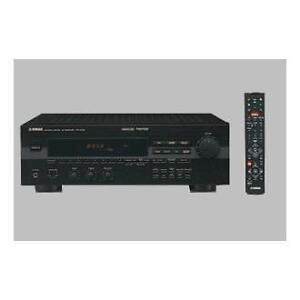 Yamaha Receiver, 5 Disc CD Play, Speakers, Remote Control