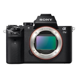 Sony a7ii (body) like new condition, low actuations w/box