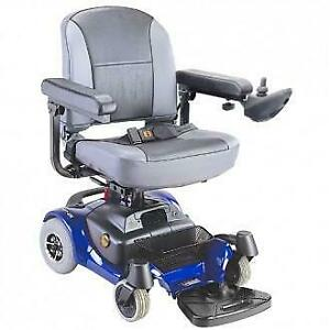 CTM Portable Power Chair The HS-5600 Portable Power Chair from CTM Homecare is a lightweight model that easily disassemb