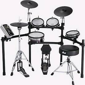 Roland TD9-KX2 with VH-11 hi-hat and upgraded KD-120 kick drum