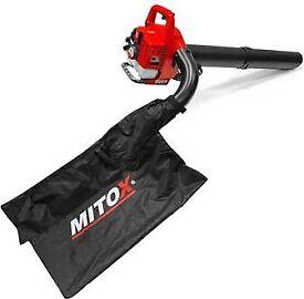 Mitox 28bv-sp hand held leaf blower vacuum