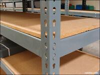 Industrial/Commercial Rapid Racking Shelving/Benches/Worktops etc