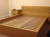 Double Bed Frame - Malm oak version