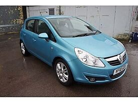 Vauxhall Corsa 1.4 SE 100PS (blue) 2010