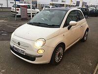 Fiat 500 1.2I LOUNGE S/S (white) 2011