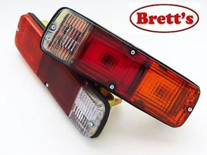 TOYOTA LANDCRUISER 40 SERIES FJ40 FJ45 HJ47 PAIR OF TAIL LIGHT TAILLIGHT LAMP
