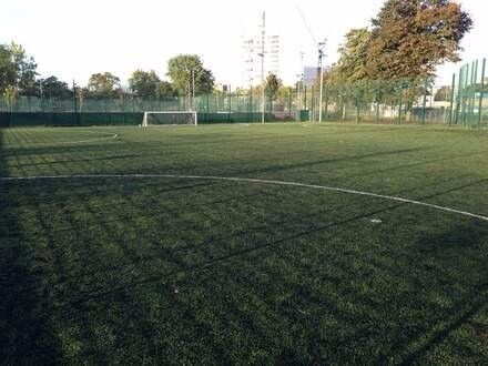 Friendly football session at Mile End Leisure Centre every Monday night!