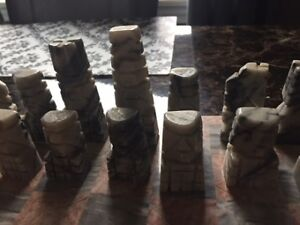 selling various chess sets