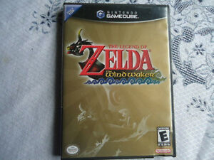 The Legend of Zelda:The Wind Waker Game Cube(Black Label)RARE
