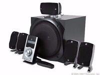 Logitech Z5500 Z-5500 5.1 speakers broken or faulty