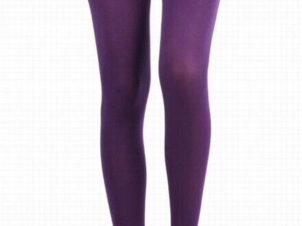New Opaque Purple Plus Size Tights Leggings Or Stockings 200 Denier M-XXL