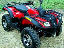 A1 MUSTANG 4 Workhorse 4WD 500cc Quad with all extras Forest Glen Maroochydore Area Preview
