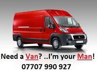 Need a Van? ..I'm your Man! - Red Van Removals - Man & Van Hire Service