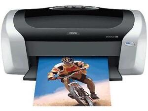 Epson C88+ Printer With the Continuous Ink Supply System
