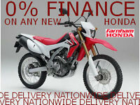New 2016 Honda CRF250L - 0% Finance Available - DEMO AVAILABLE