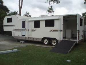 2002 34 FOOT 5TH WHEELER WITH REAR RAMP Iron Knob Whyalla Area Preview