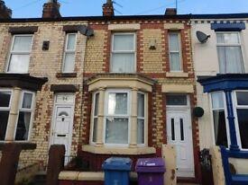 Two bedroom terrace, Brookland Road West, Old Swan, L13 3BQ