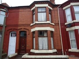 three bedroom terrace, Silverdale Avenue, Tuebrook, L13 7EZ