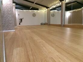 Dance, Fitness, & Exercise Studio for Hire