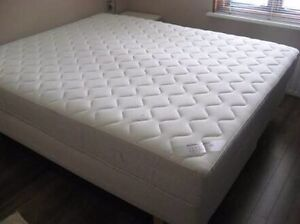 As new ikea malm queen bed+ sultan hamnvik Spring mattress rrp$850 Chatswood Willoughby Area Preview