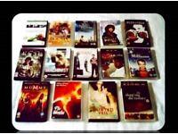 LEADING MAN DVD BUNDLE - 14 DISCS - FOR SALE