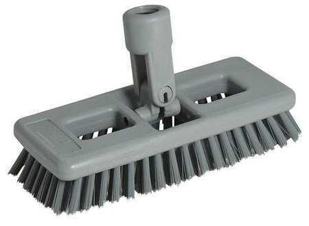 "Unger Sb20g 8"" Replacement Swivel Head Brush, Polypropylene"