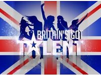 URGENT Singer wanted for Britain's go talent performance Massive opportunity!!! This November