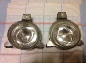Peugeot 106 GTi Quiksilver Front Fog Lights Pair Round