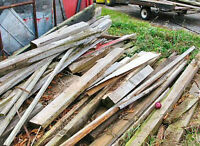 FREE Wood Removal Service, Planks, Barn wood, wood pallets