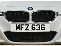 MFZ 636 – Price Includes DVLA Fees – Cherished Personal Private Registration Number Plate