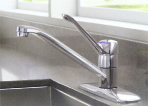 Moen Manor Chrome One-Handle Kitchen Faucet 87425-BRAND NEW