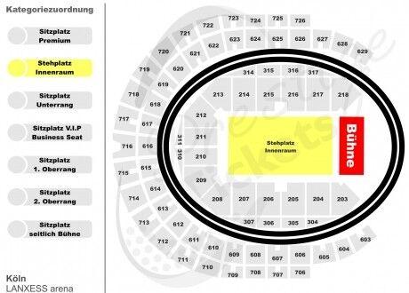 TWENTY ONE PILOTS Köln 25.02.19 STEHPLATZ INNENRAUM Tickets Karten
